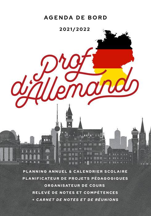 Agenda de bord 2020/2021 prof d'allemand