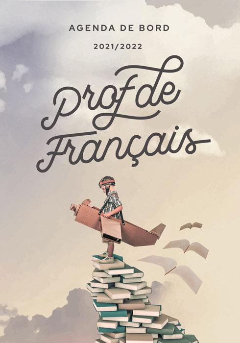Agenda de bord 2021/2022 prof de français