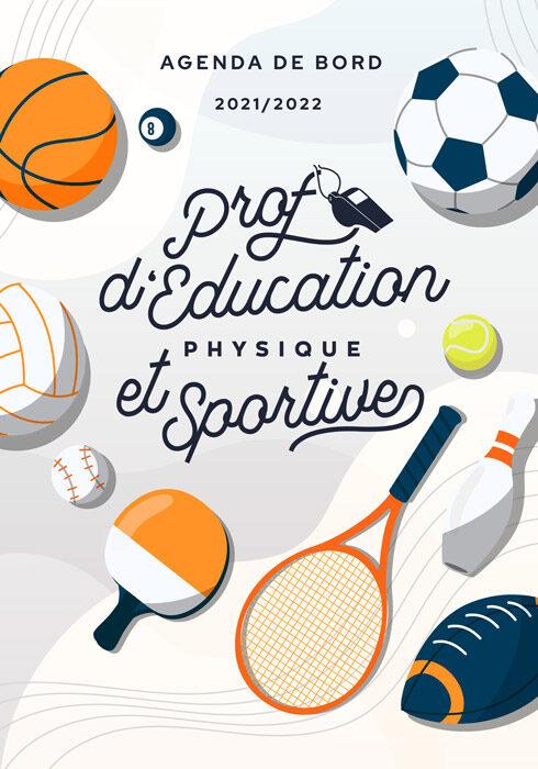 Agenda de bord 2021/2022 prof d'éducation physique et sportive