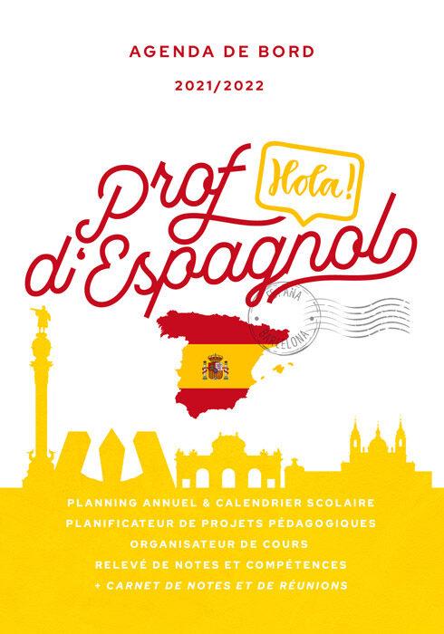 Agenda de bord 2021/2022 prof d'espagnol