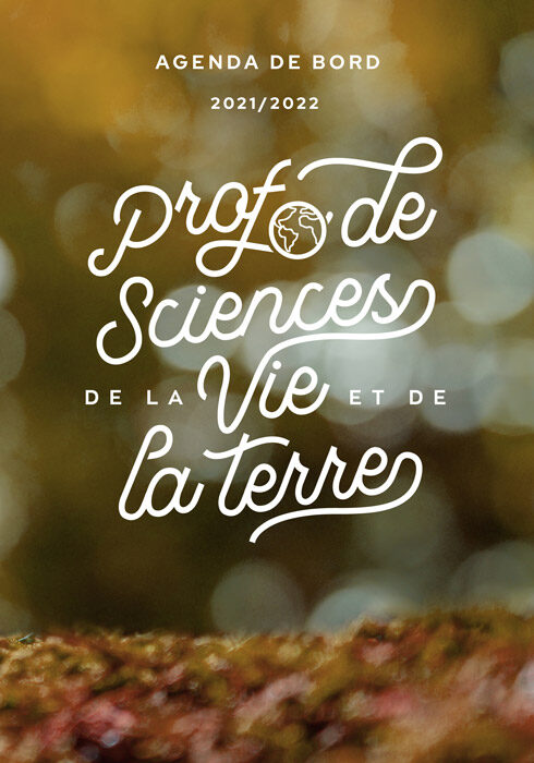 Agenda de bord 2021/2022 prof de sciences de la vie et de la terre