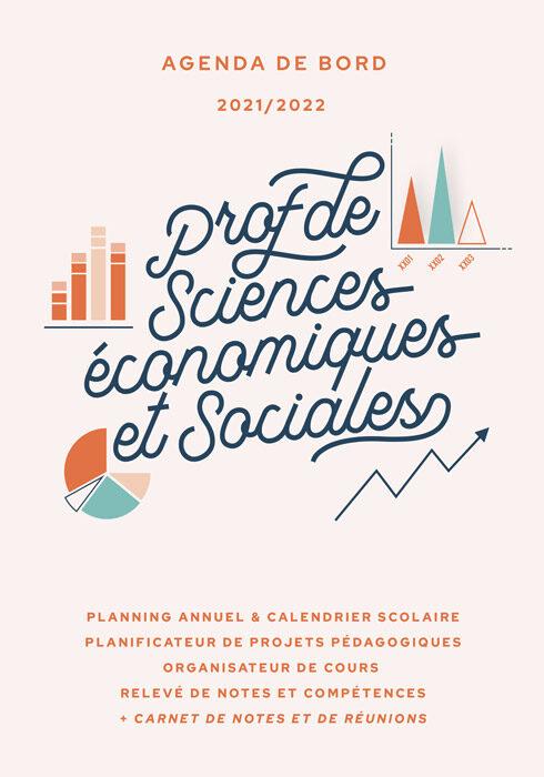 Agenda de bord 2021/2022 prof de sciences éco. et sociales