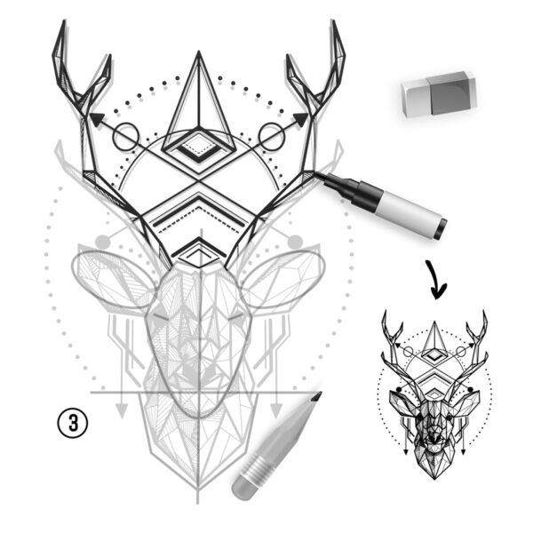 tuto-comment-dessiner-un cerf-en-tatouage-02