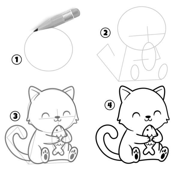 tuto-comment-dessiner-un-chat-kawaii